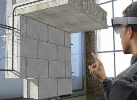 혼합형현실기반의건축설계(트림블社)