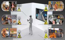 VR산업안전교육 (코오롱베니트社)