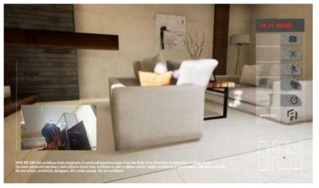 ㈜아키페이스 건축설계사의 VR 모델하우스 사례
