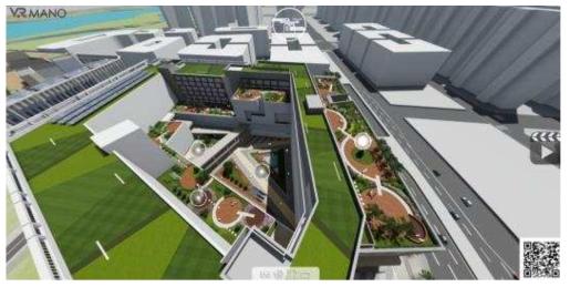 ㈜아키페이스 건축설계사의 VR 경관시뮬레이션 사례
