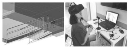 VR기술의 설계교육 적용 및 무장애 설계안 평가 사례