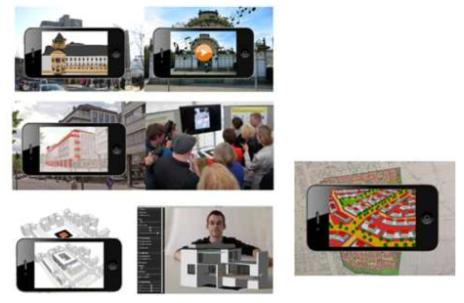 AR을 활용한 계획단지의 시민 홍보