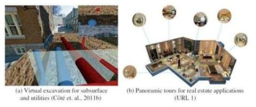 파노라마 이미지와 BIM 데이터를 결합시킨 Semi-AR 기법 제안