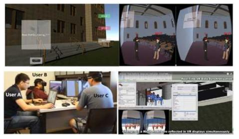 VR 가상공간에서 BIM 메타데이터의 시각화