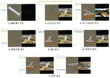 드론영상과 BIM 객체정보 연동재생 방법