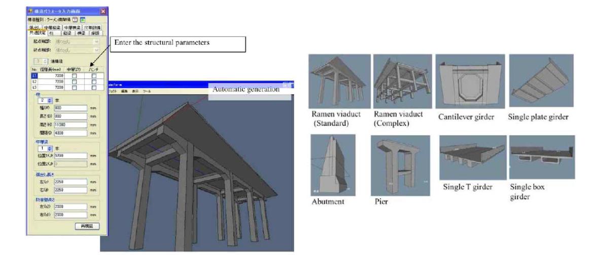 변수기반 라이브러리 및 3D 모델 생성