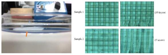 테트라 페이직 생물고분자를 이용한 3D 프린팅 기반 복수의 마이크로채널 토출 시스템 최적화