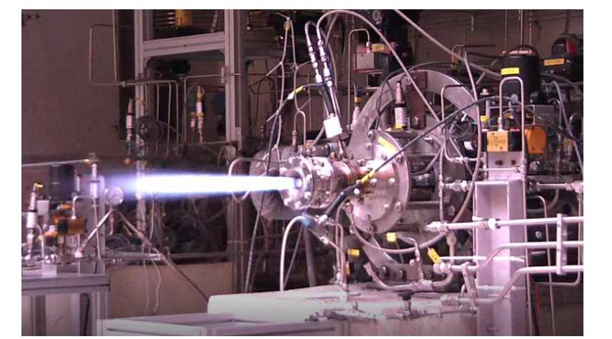 충남대 2011년 250N급 가스메탄/액체산소 연소실험