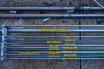 스탠드와 연결되는 각종 배관 (2)