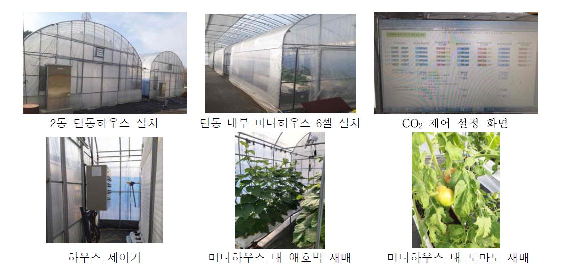이산화탄소 강화농법 연구기반