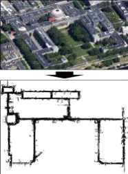 2.2km길이의 광대역 공간에서의 위치인식