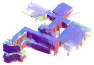 100m 주행 3D 복층평면 지도