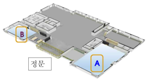 건설산업혁신센터 1층 평면도