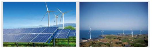 태양광 및 풍력발전