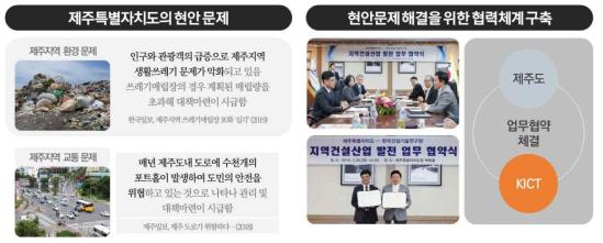 제주특별자치도-한국건설기술연구원 업무협약 체결